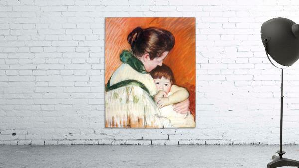 Woman and Child by Cassatt