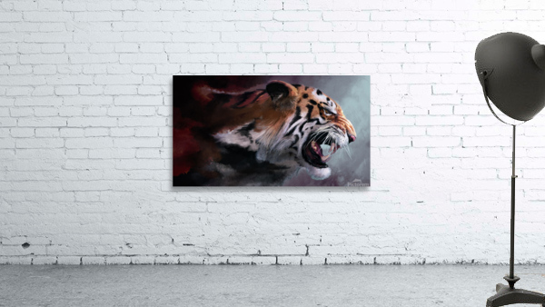 Lunging Tiger