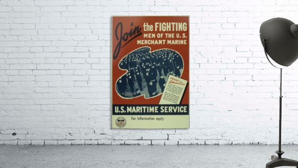 Join the Fighting Men of The US Merchant Marine