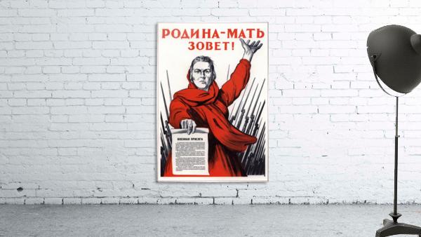 World War Propaganda Russian Original Poster