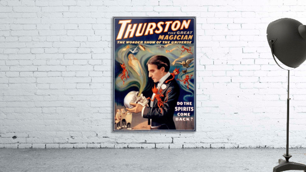 Thurston the Great Magician Vintage Poster