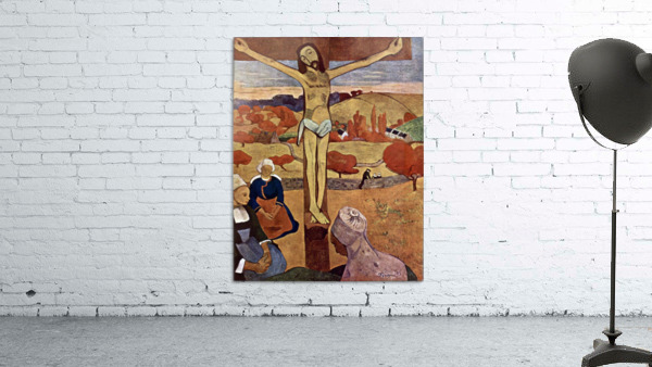 Yellow Christ by Gauguin