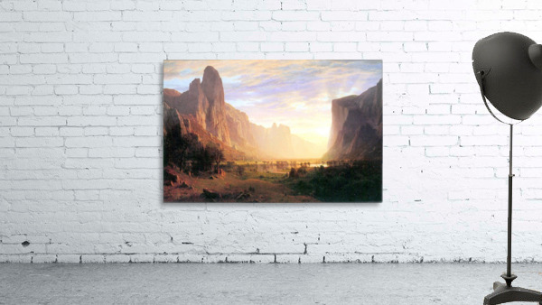 Yosemite Valley 3 by Bierstadt