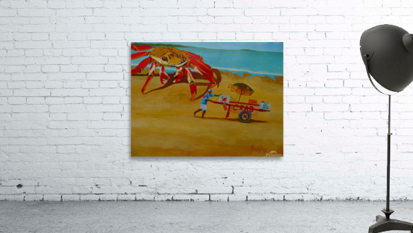 Crab Food Vendor