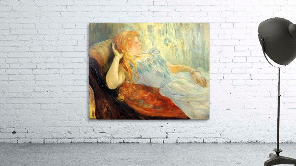 Young girl resting -2- by Morisot