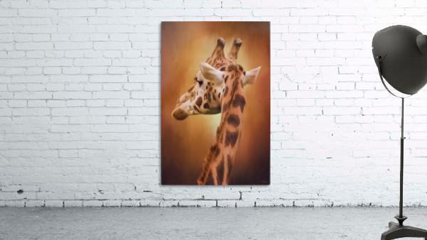 Rising Above - Giraffe Art