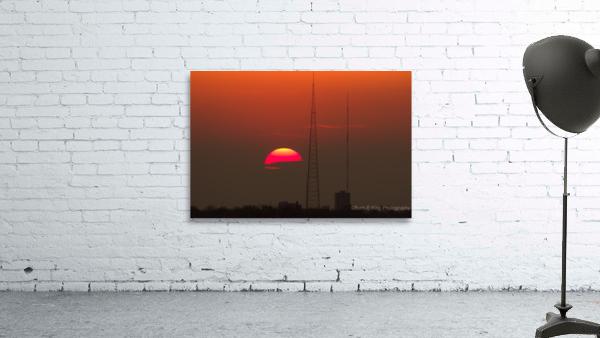 KCMO Tower Sunset