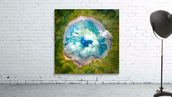 Dream Art XIX Surreal Eye Lake