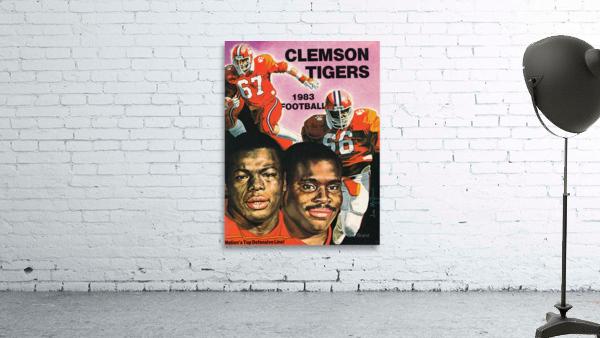 1983 Clemson Tigers Football Poster