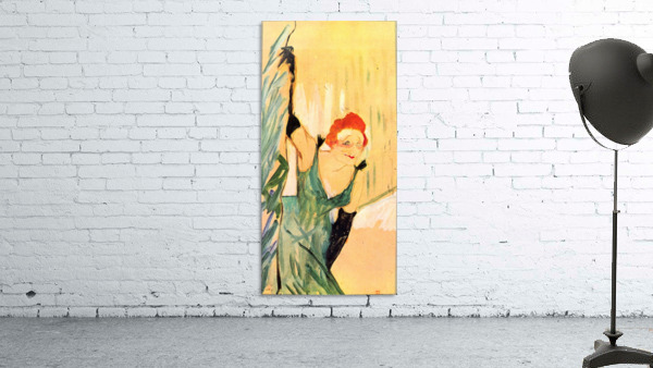 Yvette Guilbert greets the Audience by Toulouse-Lautrec