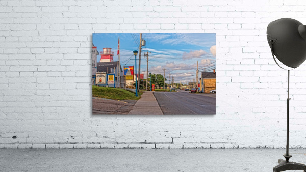Cheticamp - Main Street Print