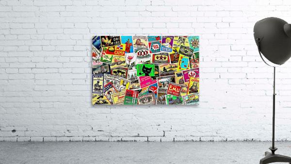 Matchbox Label Collage