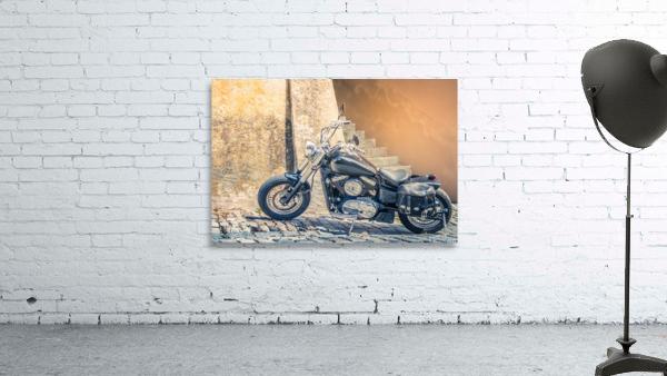Chopper cruiser motorbike