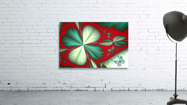 Shamrock and Butterfly