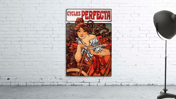 Cycles Perfecta by Alphonse Mucha