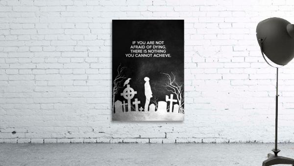 Laugh at Death Motivational Wall Art