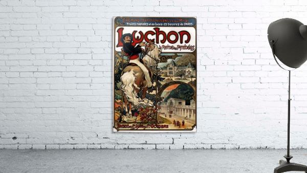 Luchon by Alphonse Mucha