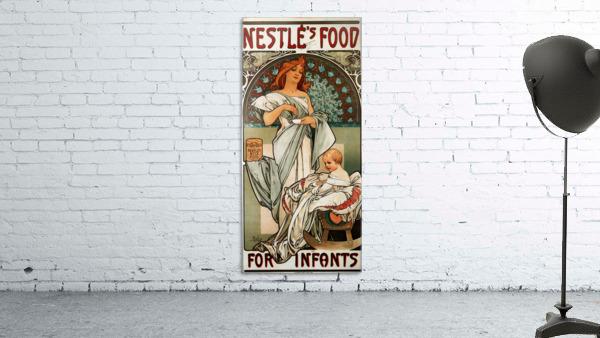 Nestle by Alphonse Mucha