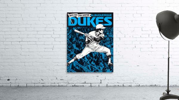 1973 Albuquerque Dukes Baseball  Poster