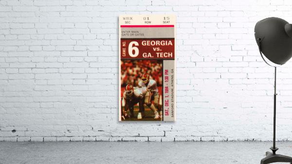 1984 Georgia Tech vs. Georgia