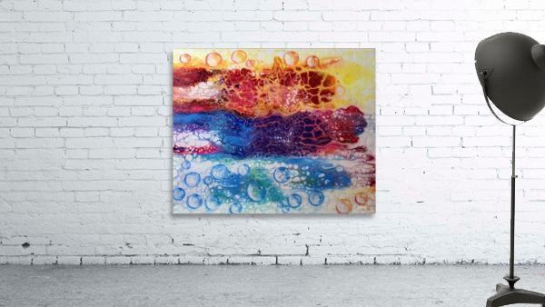 Rainbow Lizard Abstract
