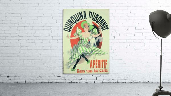 Quinquina Dubonnet - Aperitif dans tous les Cafes poster