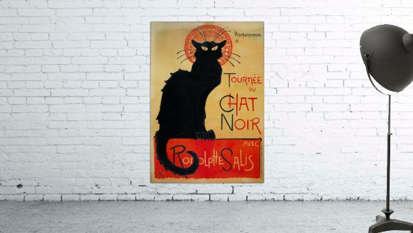 Theophile Steinlen - Tournee du Chat Noir
