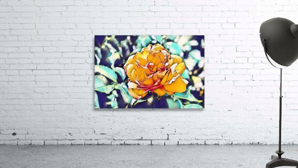 Rose in Yellow