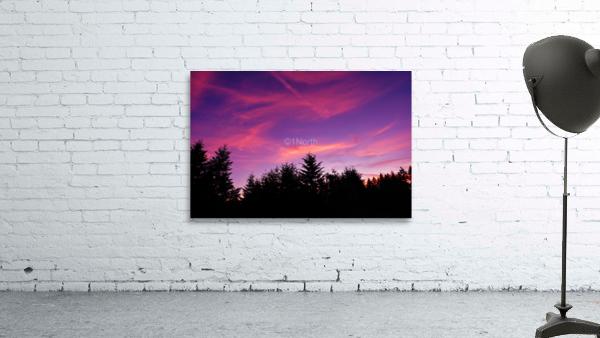 Summer Sunset Pacific Northwest United States
