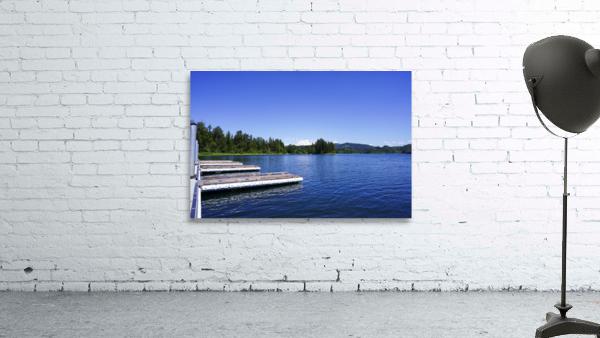Alder Lake and Mount Rainier Pacific Northwest United States