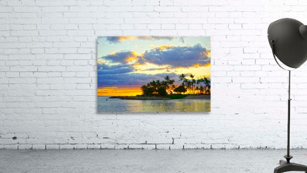 Sunset over Kaula Bay Hawaii