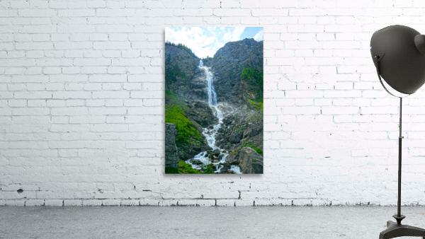 Engstligen Falls Adelboden Switzerland in the Bernese Highlands
