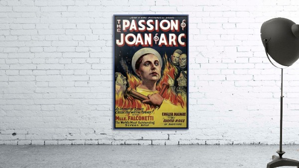 The Passion of Joan of Arc 1928 Ad