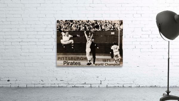 1971 Pittsburgh Pirates World Champions Art