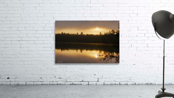 Lever de soleil sur le lac Earhart  2 - Sunrise on Earhart Lake 2