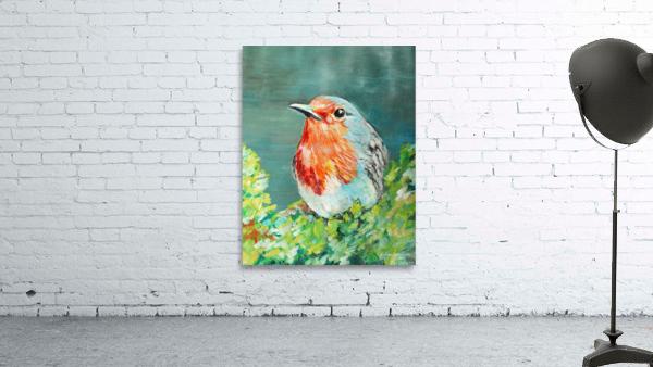 Bird Painting Robin
