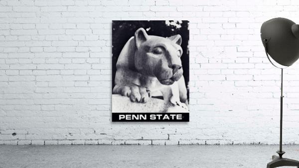 1988 Penn State Nittany Lion Shrine Art