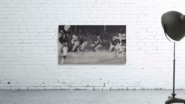 1968 New York Jets Joe Namath Pass Photograph