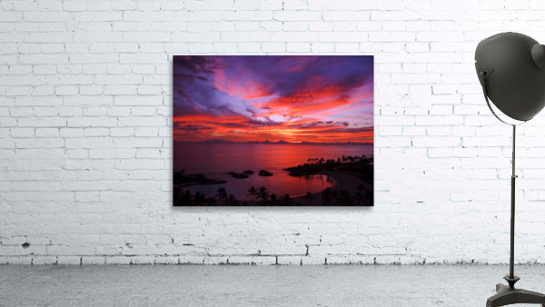 Euphoria Before Bliss - 2013 ARTWORK OF THE YEAR WINNER - Pink and Orange Kissed Skies over Hawaii at Sunset