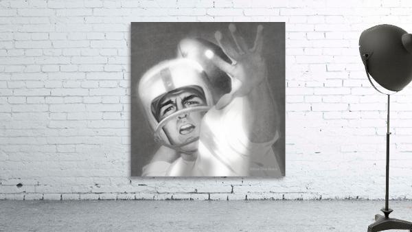 1960 Lon Keller Quarterback Remix Art