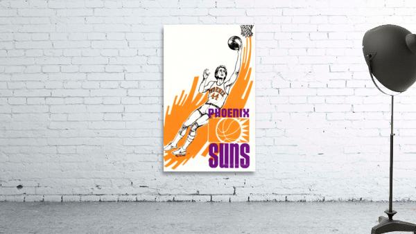 1977 Phoenix Suns Basketball Art