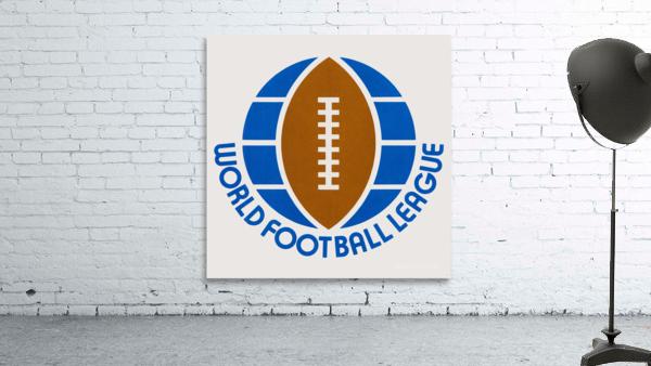 1974 World Football League Logo Art