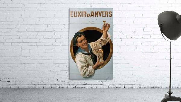 Elixir DAnvers Vintage Advertising Poster