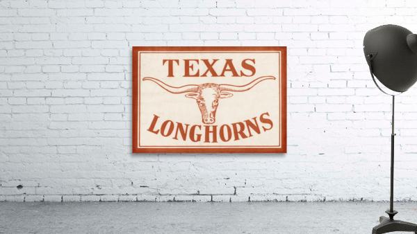 Historic Texas Longhorns Art