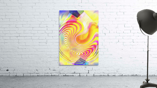 Multicolored Experimental Headache 21