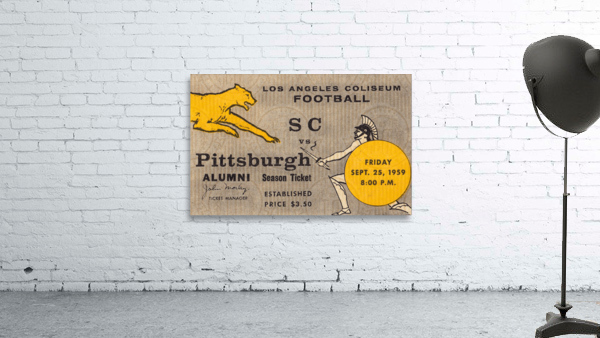 1959 Pittsburgh Panthers vs. USC Trojans