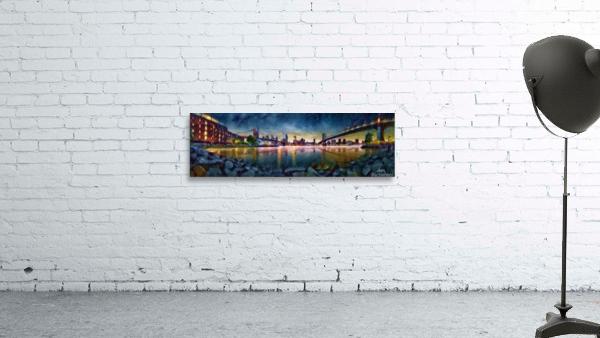 Brooklyn Cove Panorama Painting