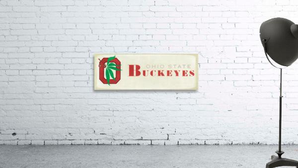 1973 Ohio State Buckeyes Retro Art | Row 1