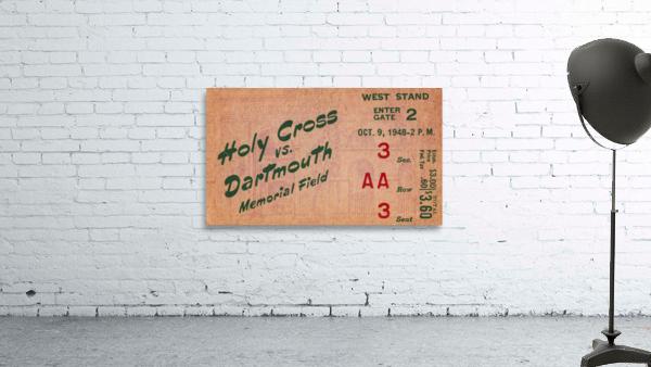 1948 Dartmouth Indians vs. Holy Cross Crusaders | Row 1