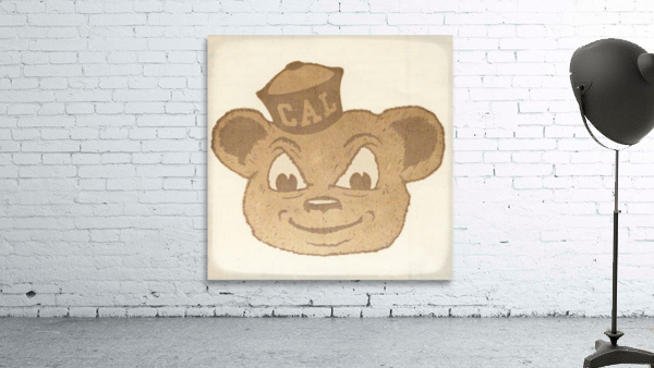 1966 Cal Bear Art | Row 1